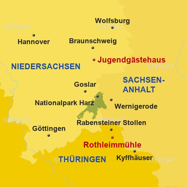 Nordhausen Karte.Stepmap Harz Sp Wolfenbüttel Nordhausen 2019 Katalog Landkarte