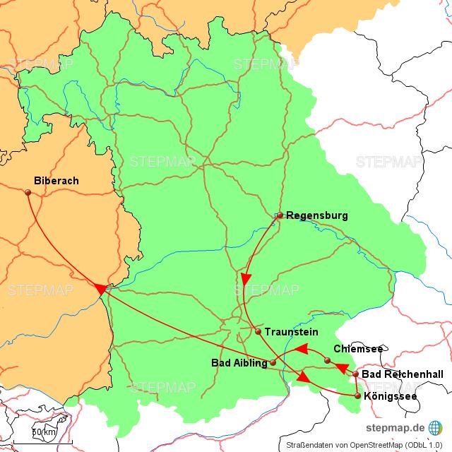 stepmap  herbst 2016  test  landkarte für deutschland