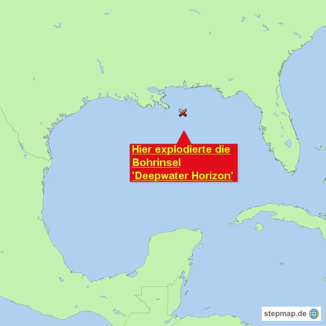 Hier Explodierte Die Bohrinsel Deepwater Horizon Von