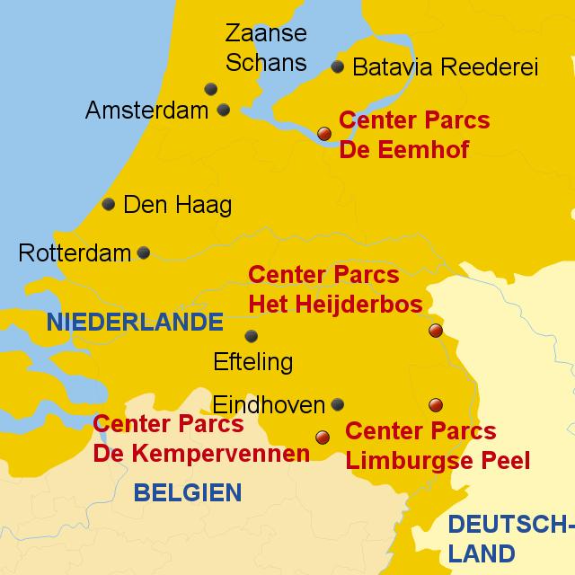 Karte Von Holland Landkarte Niederlande.Stepmap Holland Center Parcs Landkarte Für Niederlande