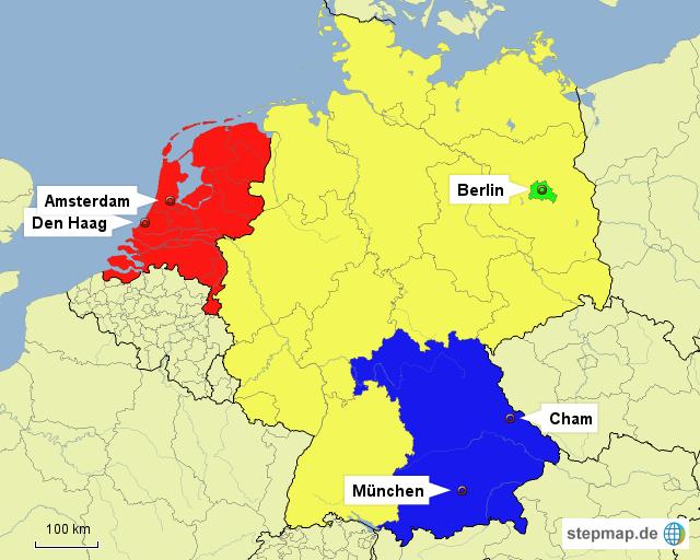 holland deutschland karte StepMap   Holland, Deutschland   Landkarte für Deutschland