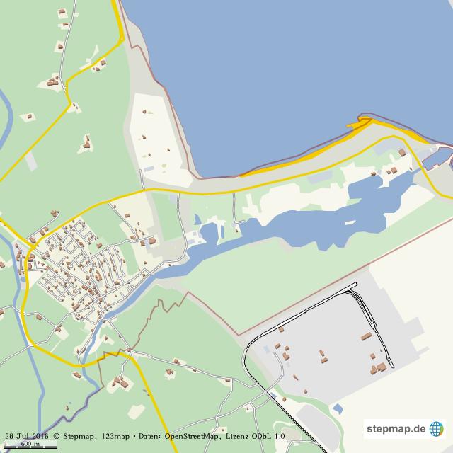 hooksiel karte StepMap   Hooksiel   Landkarte für Welt