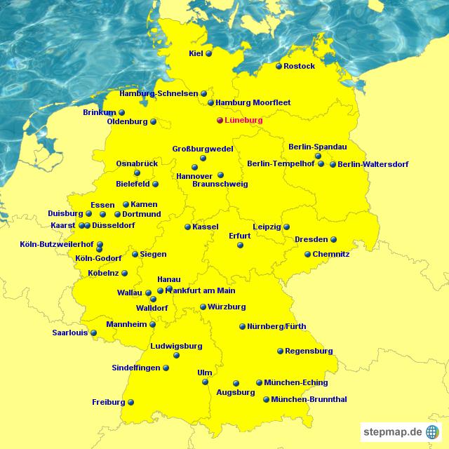 Stepmap Ikea Landkarte Fur Deutschland