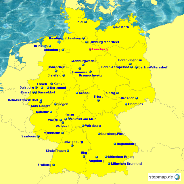 stepmap ikea landkarte f r deutschland. Black Bedroom Furniture Sets. Home Design Ideas
