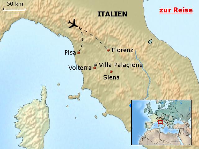 Toskana Karte Italien.Stepmap Ith01 Italien Villa Palagione Toskana Italien Karte