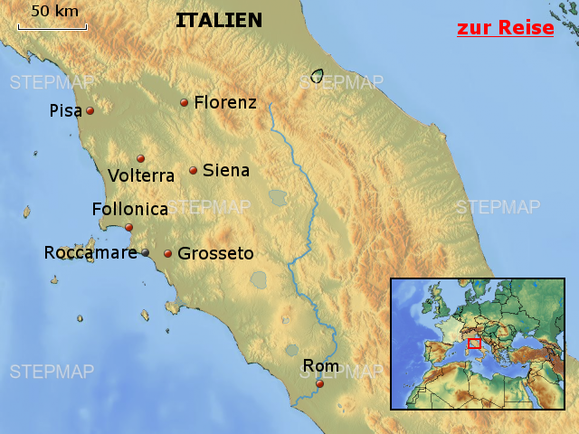 Toskana Karte Italien.Stepmap Ith04 Roccamare Italien Toskana Landkarte Für Italien