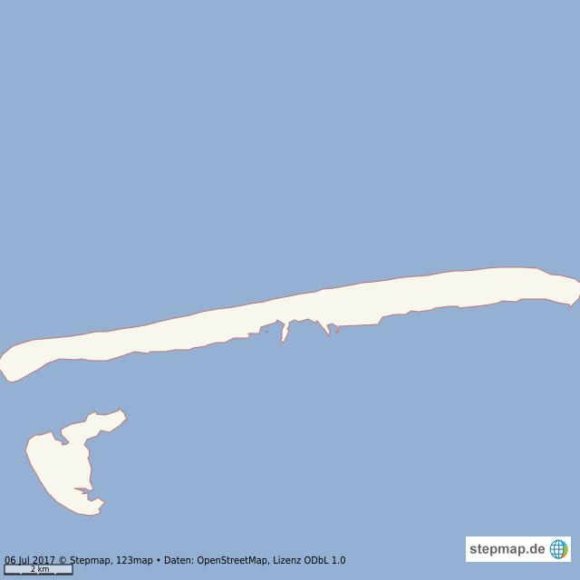 Juist Karte.Stepmap Insel Juist Landkarte Für Welt
