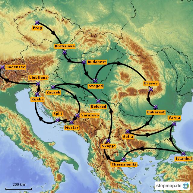 Interrail Osteuropa