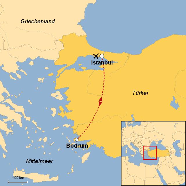Bodrum Karte.Stepmap Istanbul Bodrum Landkarte Für Türkei