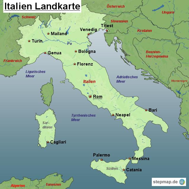 25 new landkarte von italien anzeigen. Black Bedroom Furniture Sets. Home Design Ideas