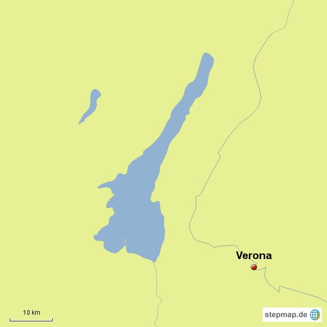 Verona Italien Karte.Stepmap Italien Verona Landkarte Für Deutschland