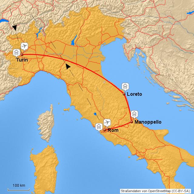 Bistum Trier Karte.Stepmap Italienwallfahrt Bistum Trier Landkarte Für Deutschland