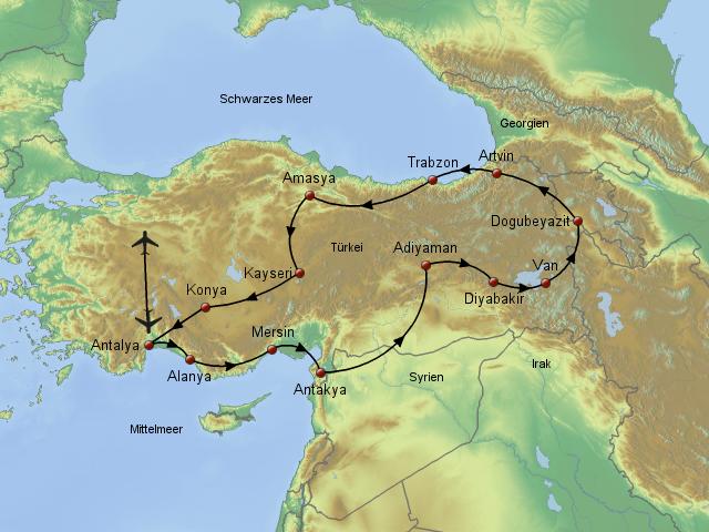 Karte Türkei Kappadokien.Stepmap Kappadokien Ostanatolien Landkarte Für Türkei