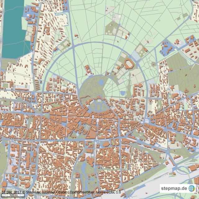 Karte Karlsruhe.Stepmap Karlsruhe Landkarte Für Welt