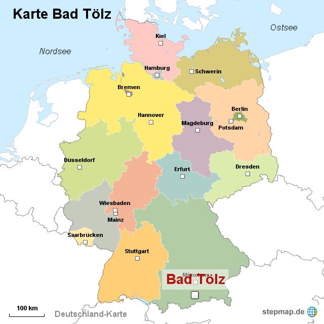 bad tölz karte StepMap   Karte Bad Tölz   Landkarte für Deutschland