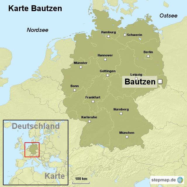 bautzen karte StepMap   Karte Bautzen   Landkarte für Deutschland bautzen karte