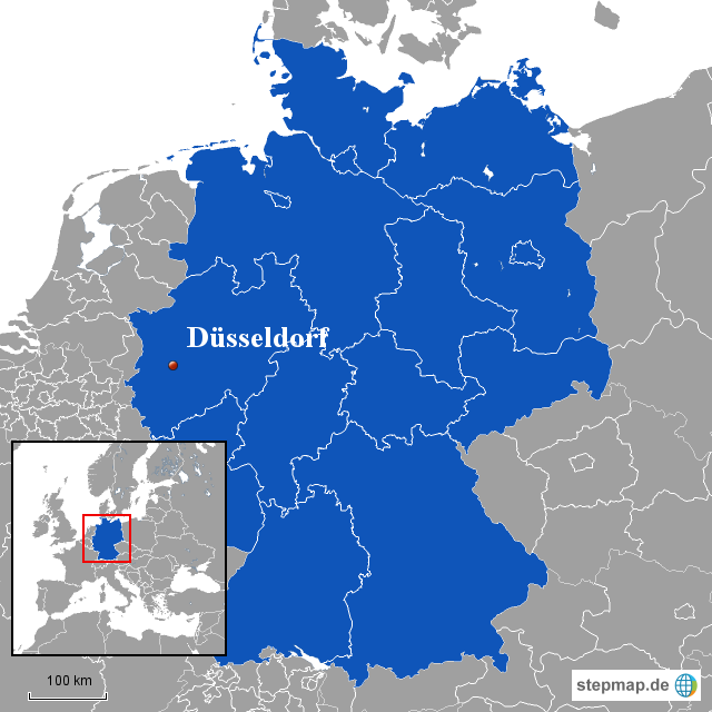 düsseldorf landkarte deutschland StepMap   Karte Düsseldorf   Landkarte für Deutschland