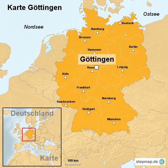 göttingen karte StepMap   Karte Göttingen   Landkarte für Deutschland