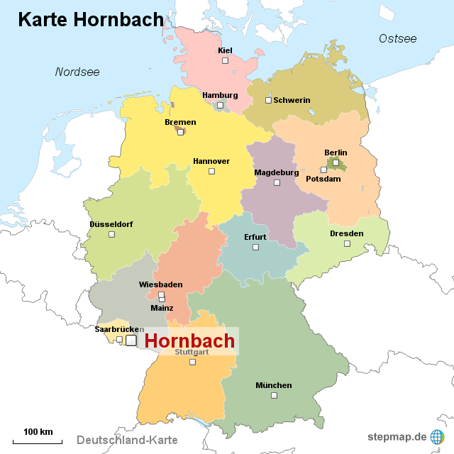 hornbach karte StepMap   Karte Hornbach   Landkarte für Deutschland