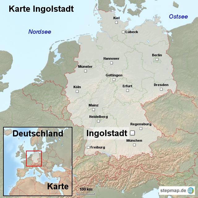 ingolstadt karte StepMap   Karte Ingolstadt   Landkarte für Deutschland