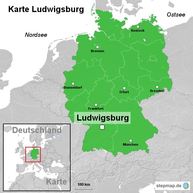 ludwigsburg karte StepMap   Karte Ludwigsburg   Landkarte für Deutschland