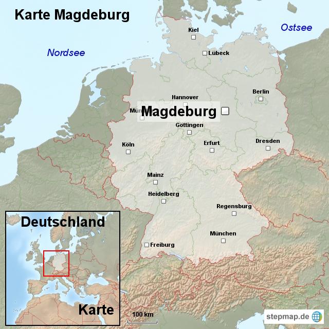 magdeburg karte deutschland StepMap   Karte Magdeburg   Landkarte für Deutschland