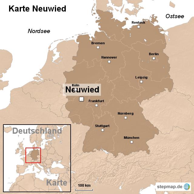 neuwied karte StepMap   Karte Neuwied   Landkarte für Deutschland neuwied karte