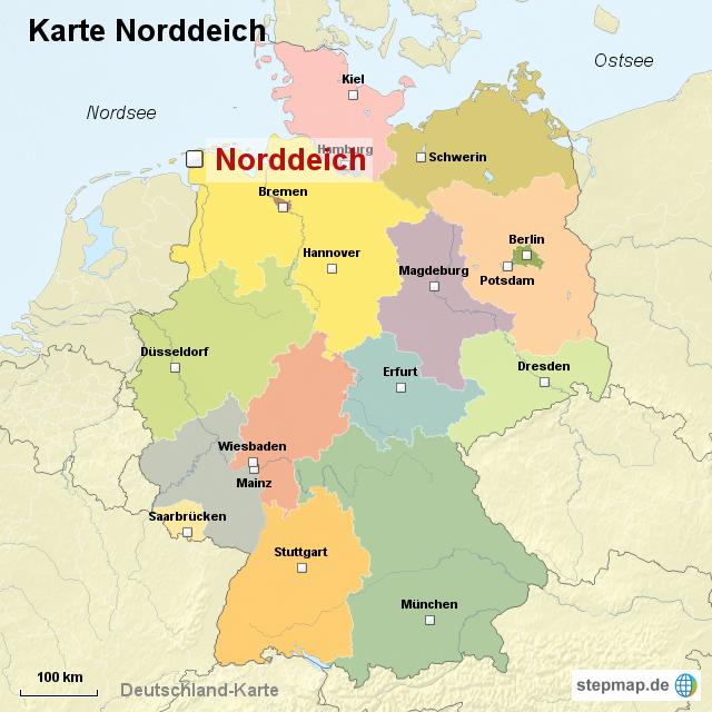 karte norddeich StepMap   Karte Norddeich   Landkarte für Deutschland