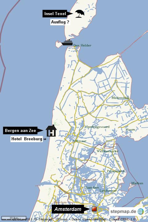 nordholland karte StepMap   Karte Nordholland   Landkarte für Welt