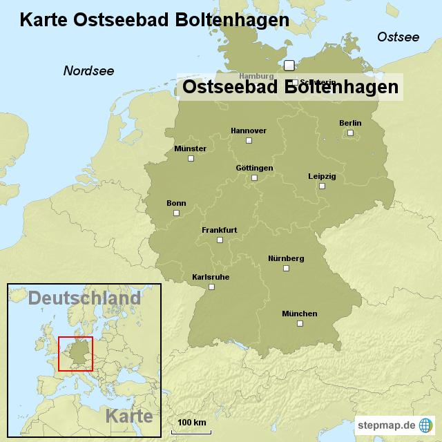 Ostseebad Boltenhagen Karte.Stepmap Karte Ostseebad Boltenhagen Landkarte Für Deutschland