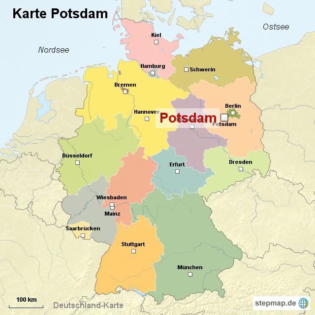 potsdam karte StepMap   Karte Potsdam   Landkarte für Deutschland