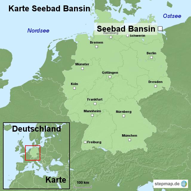 bansin karte StepMap   Karte Seebad Bansin   Landkarte für Deutschland