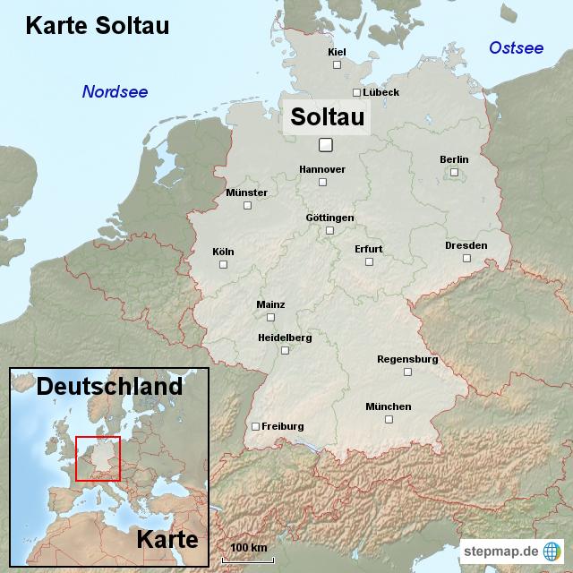 soltau karte StepMap   Karte Soltau   Landkarte für Deutschland soltau karte