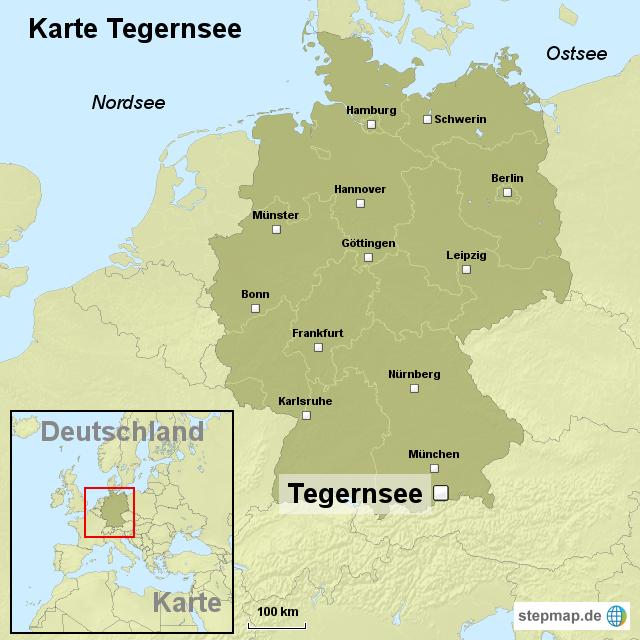 tegernsee karte StepMap   Karte Tegernsee   Landkarte für Deutschland
