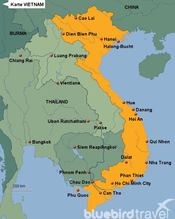 landkarte vietnam StepMap   Karte VIETNAM   Landkarte für Vietnam landkarte vietnam