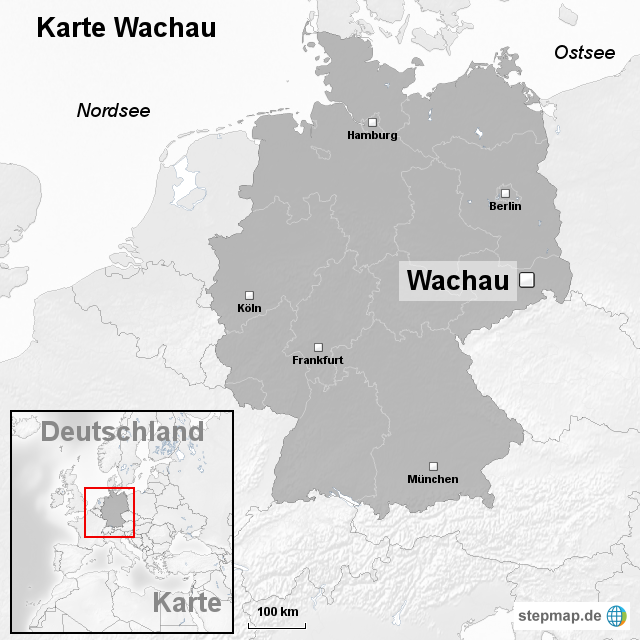 Wachau Karte.Stepmap Karte Wachau Landkarte Für Deutschland