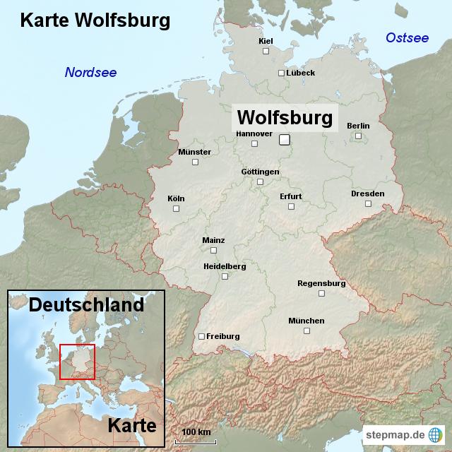 wolfsburg deutschland karte StepMap   Karte Wolfsburg   Landkarte für Deutschland