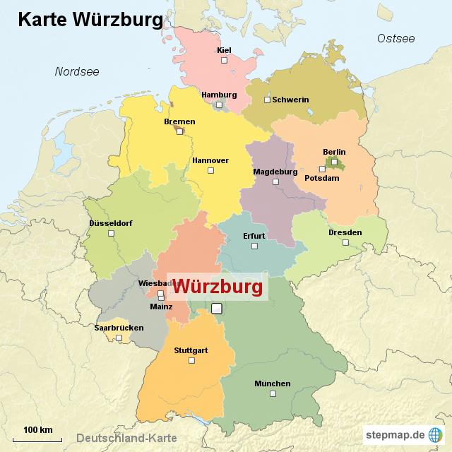 würzburg karte StepMap   Karte Würzburg   Landkarte für Deutschland würzburg karte