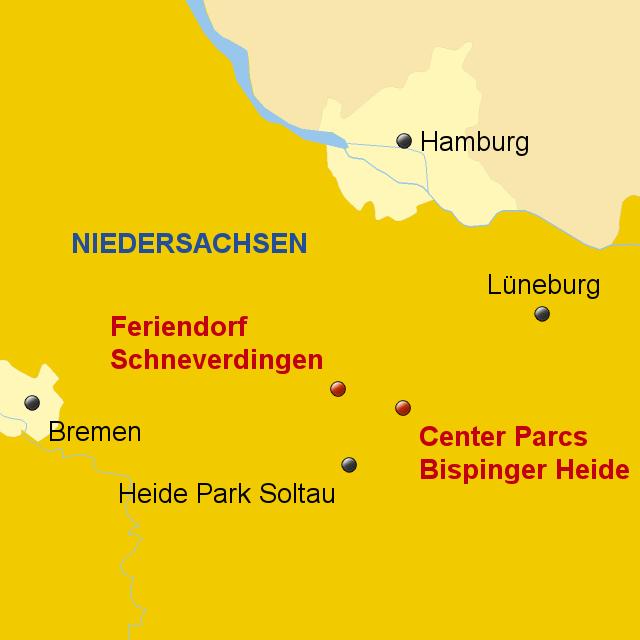 stepmap katalog sport schneverdingen bispingen center parcs landkarte f r deutschland. Black Bedroom Furniture Sets. Home Design Ideas