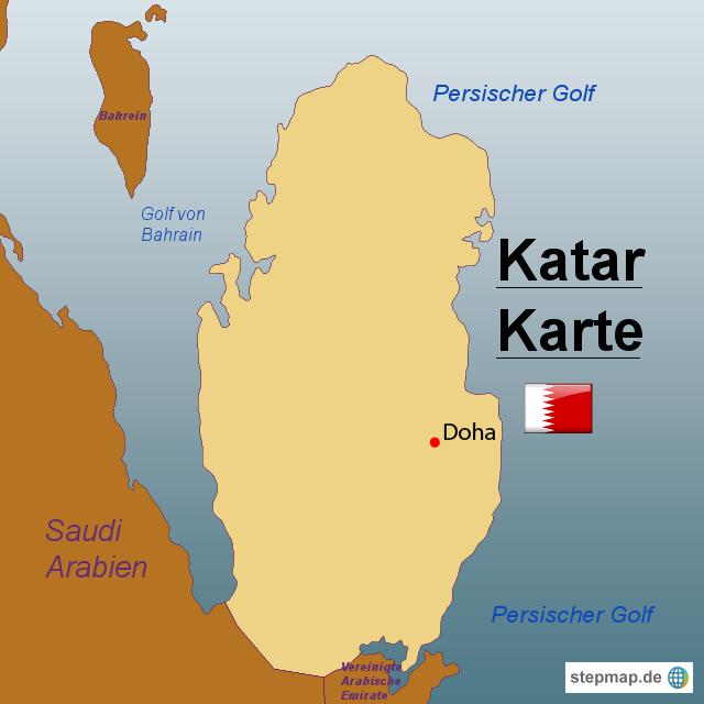 katar landkarte StepMap   Katar Karte   Landkarte für Katar katar landkarte