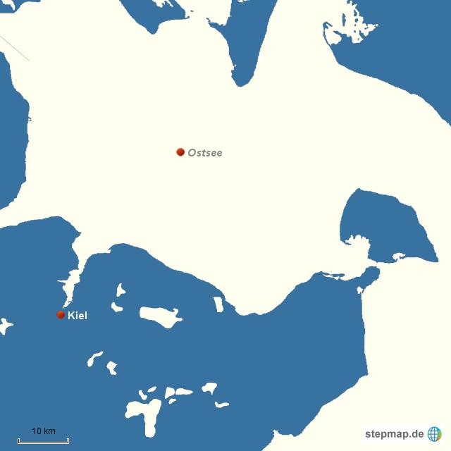 Kieler Bucht Karte.Stepmap Kieler Bucht Landkarte Für Deutschland