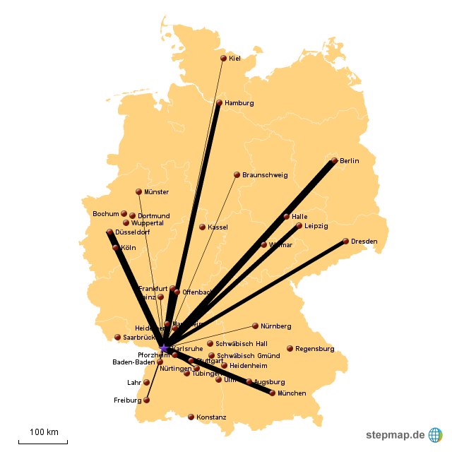 Kontakte In Karlsruhe