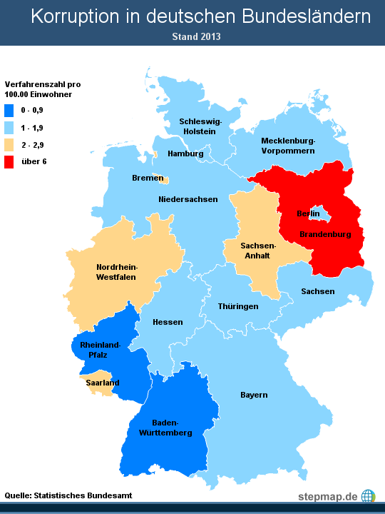 Alle Deutschen Bundesländer