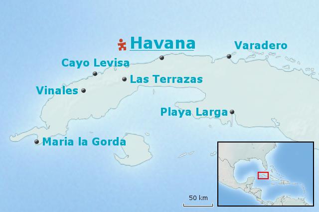 Havanna Kuba Karte.Stepmap Kuba Baustein Die Plätze Von Havanna Landkarte Für Kuba