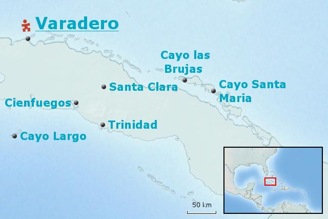 Karte Kuba Varadero.Stepmap Kuba Baustein Relaxen In Varadero Landkarte Für Kuba