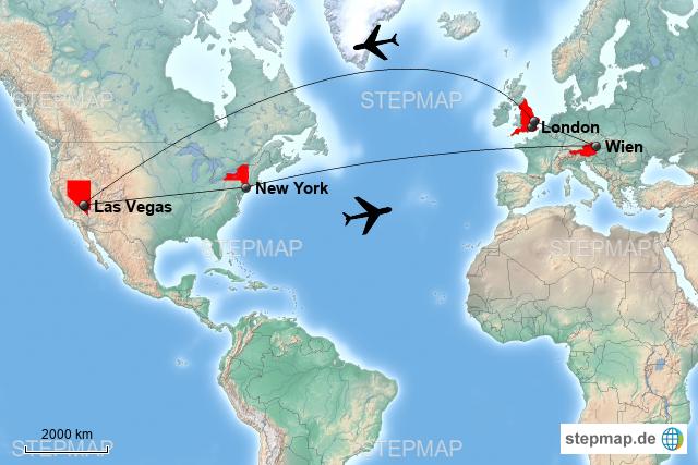 Direktflüge Deutschland Las Vegas