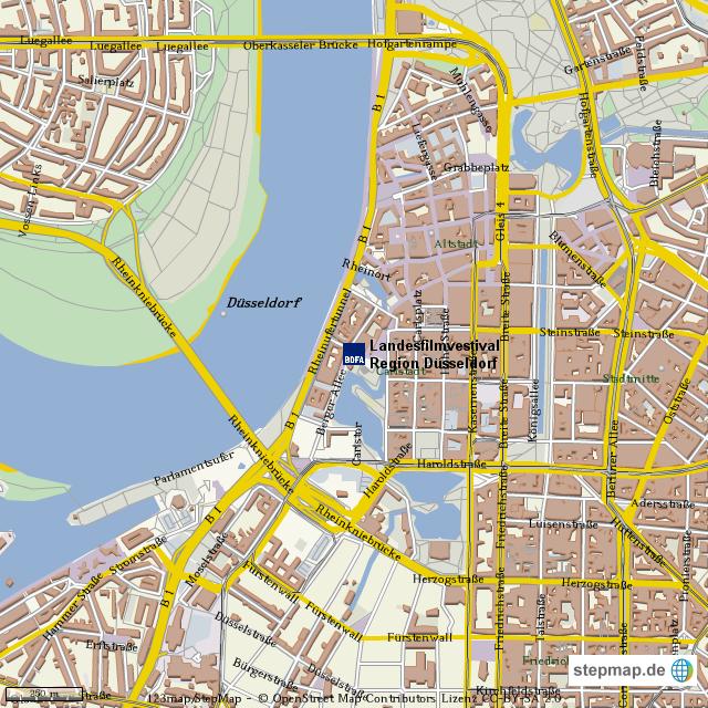 Düsseldorf Karte.Stepmap Lfv Düsseldorf Groß Landkarte Für Deutschland