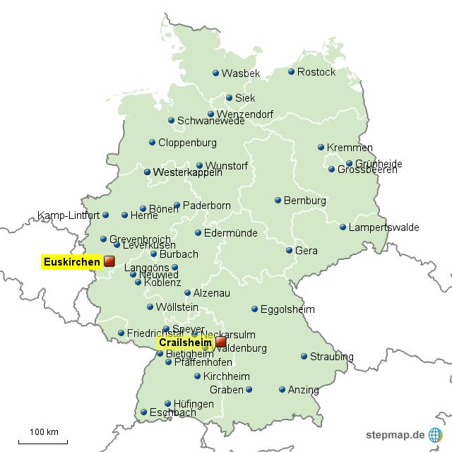 lidl karte StepMap   LIDL DE ZENTRALLAGER   Landkarte für Deutschland