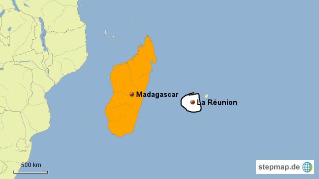 la reunion weltkarte StepMap   La Réunion   Landkarte für Deutschland la reunion weltkarte