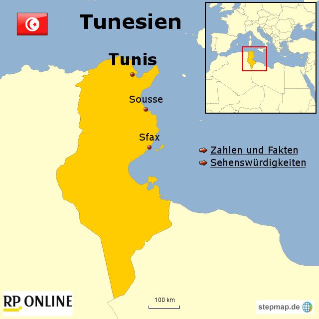 Tunesien Karte Welt.Stepmap Länder Der Welt Tunesien Landkarte Für Afrika